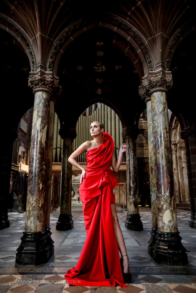 fashion show chester cathedral