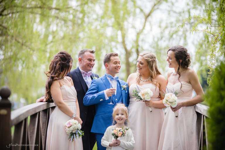 Fun cheshire wedding at Grosvenor Pulford