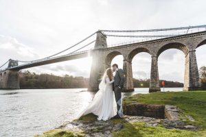 North Wales wedding photographer Menai Bridge