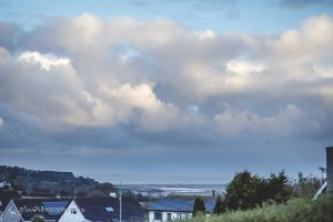 North Wales wedding photographer clouds