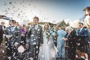 North Wales winter wedding photographer