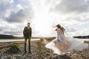 North Wales beach weddings