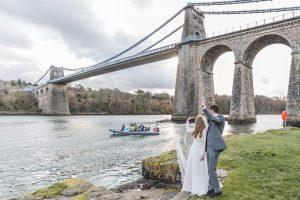 North Wales documentary wedding photographer