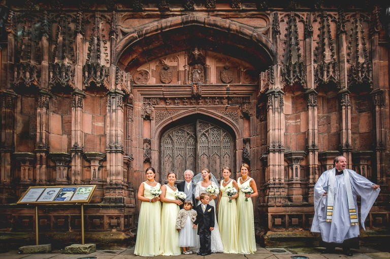 Chester Cathedral wedding photographer
