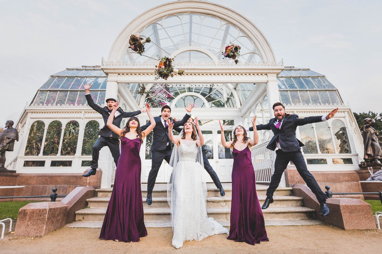 Palm House Sefton Park wedding photos