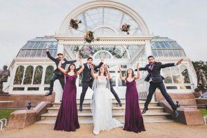 Palm House Sefton Park wedding photos