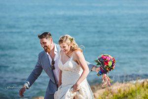 wedding portraits beach sea sand sun destination wedding photographer Europe Spain, Italy France