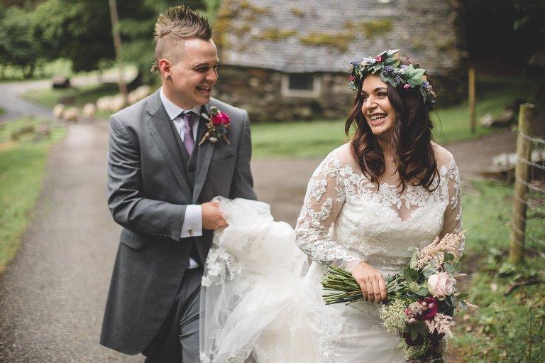outdoor forest wedding wedding
