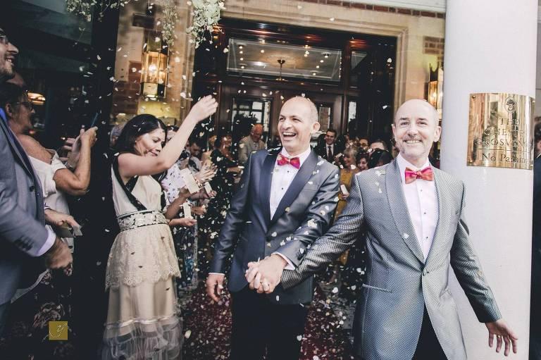 Chester wedding photographer Grosvenor Hotel