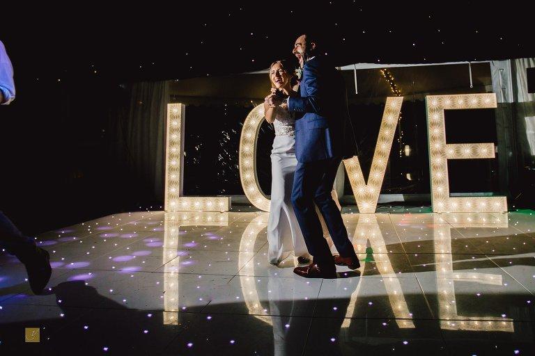 Soughton Hall wedding photos first dance