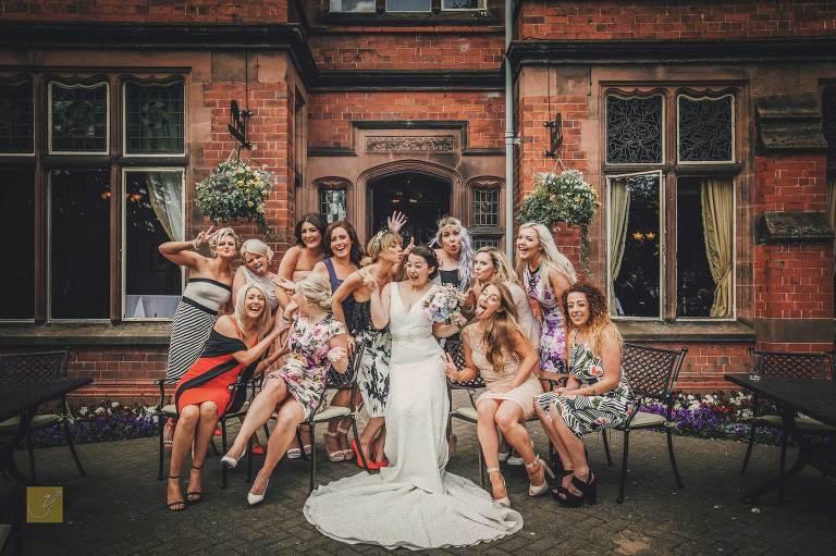 badass bride goals cool bridesmaids