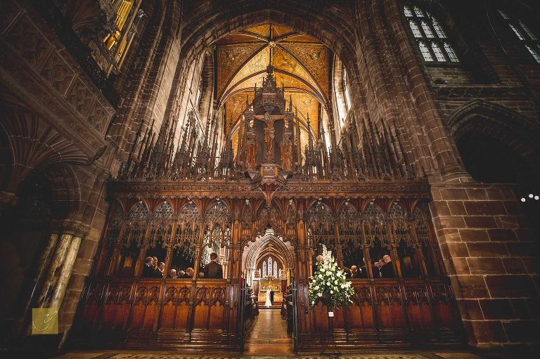 Chester Cathedral wedding photography